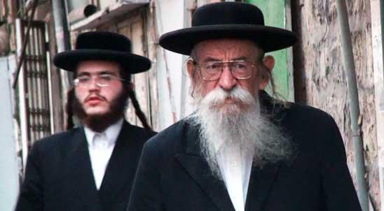 Mea Shearim, barrio de judíos ortodoxos en Jerusalén