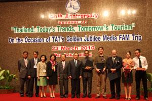 Turismo de Tailandia celebra su 50 aniversario