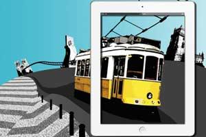 Conocer Lisboa a través del Ipad