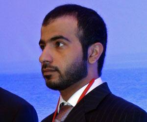 Mohammed Balooshi, responsable de comunicación de la Autoridad de Turismo de Abu Dhabi
