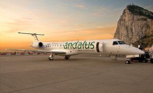 Ándalus líneas aéreas retoma la ruta Gibraltar-BCN e indrementa las frecuencias a Madrid
