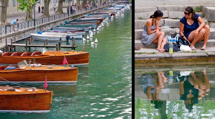 Dicen que el lago de Annecy es el más limpio de Europa