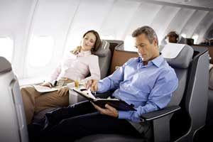 Asientos de Business Class de Lufthansa