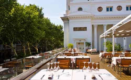 Attic Restaurant, un oasis en las Ramblas de Barcelona