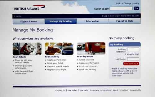 Información de British Airways: viajar con niños