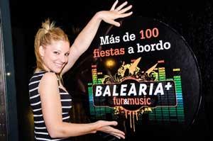 Gran éxito de las fiestas Baleària Fun&Music organizadas este verano