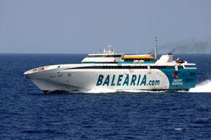 Baleària oferta más de 11.000 plazas entre Barcelona y Menorca durante la Semana Santa