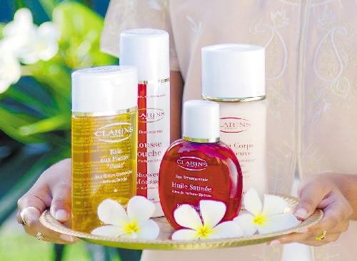 El spa del resort 5* Shandrani se afilia a la marca Clarins