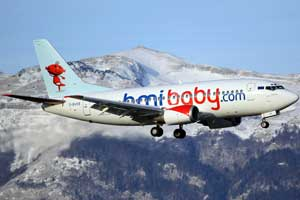 Bmibaby inaugura una nueva línea a Gibraltar