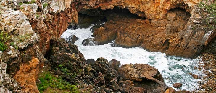 Boca do Inferno, uno de los lugares más visitados de Cascais/Foto María Jesús Tomé