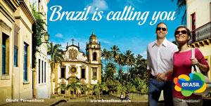 Presentada la campaña de promoción turística de Brasil para el 2014