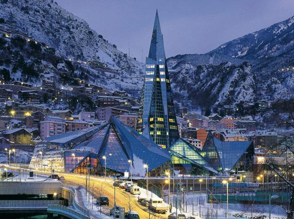 Invierno, montaña y Caldea,la combinación perfecta para disfrutar de la naturaleza y relajarse