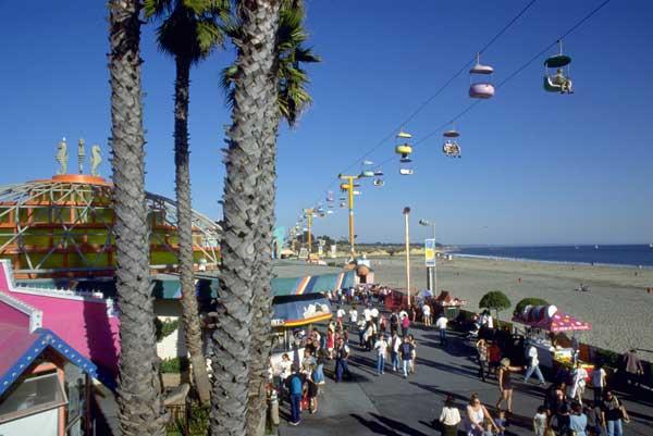 Santa Cruz Beach. Foto de California Travel & Tourism Comission/ Robert Holmes