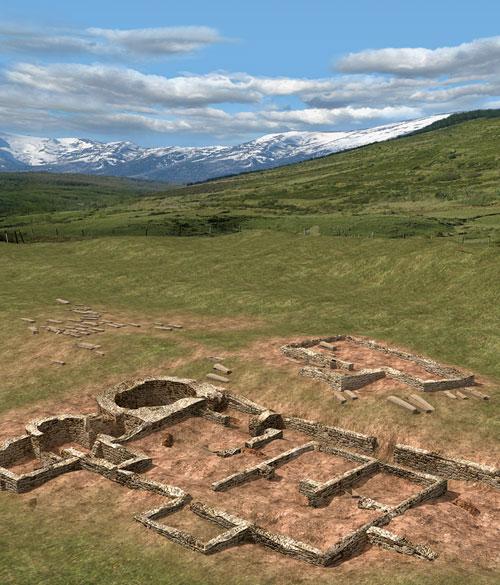 Yacimiento Romano Medieval Camesa-Rebolledo