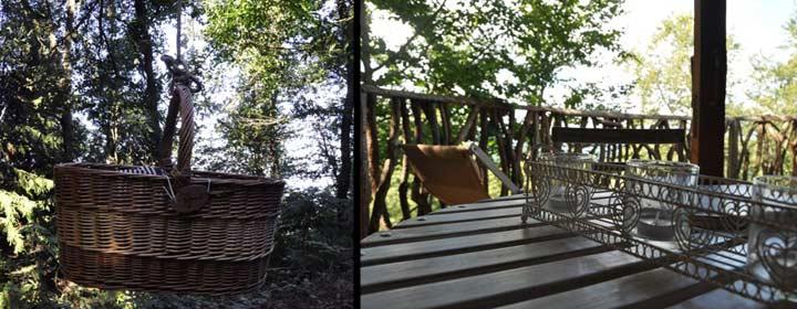 Cabañas en los árboles www.cabanesalsarbres.com/Foto Sonia Zaghbani