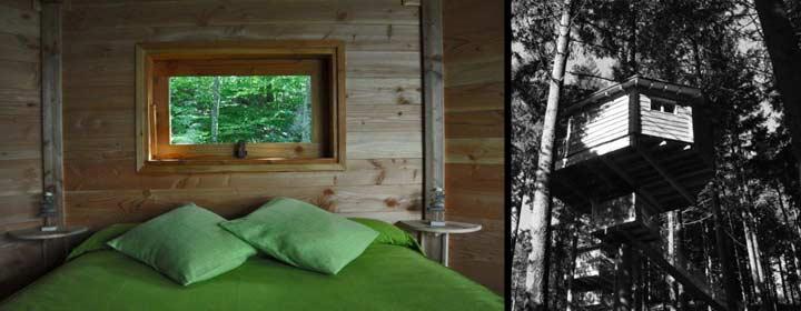 Cabañas en los árboles www.cabanesalsarbres.com