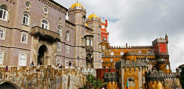 El Palácio Nacional da Pena, en Sintra,es una de las máximas expresiones del romanticismo portugués/ Foto María Jesús Tomé