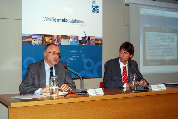 Las villas termales catalanas crean un espacio de proyección del turismo y el termalismo catalán