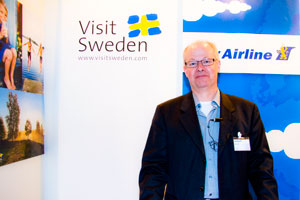 Peter Svensson, Sales Manager de City Airline