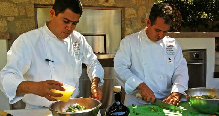 Cocineros en el Hotel Palmilla/Foto Juan Coma