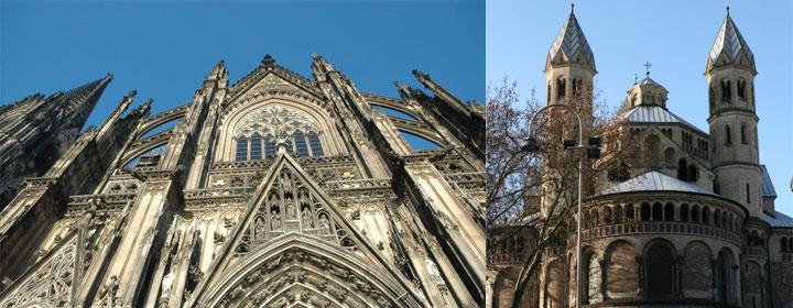 A Colonia la llaman la ciudad de las iglesias Fotos: Oficina de Turismo de Colonia
