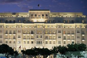 Fachada del Hotel Copacabana Palace, en Río de Janeiro