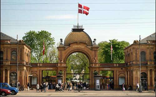 Parque Tívoli, el verdadero pulmón verde de Copenhague