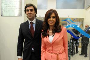 La presidenta argentina Cristina Fernández inaugura la nueva oficina del INPROTUR en Madrid