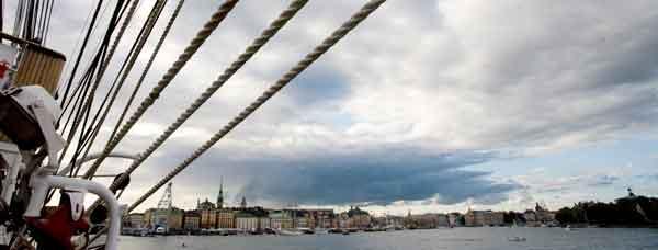 Record de cruceros en Estocolmo