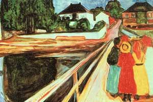 Muchachas en el puente © Munch Museum/Munch-Ellingsen Group/BONO 2012