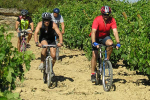 Enoturismo y deporte en la I Vuelta Cicloturista Ruta del Vino Rioja Alavesa
