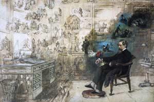 Dickens Dream by Robert William Buss C Charles Dickens Museum
