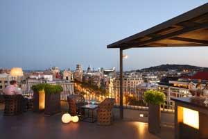 La Dolce Vitae: la terraza glamourosa del Majestic Hotel & Spa