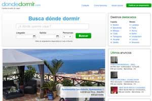 Nace Dondedormir.com, la nueva alternativa a los hoteles
