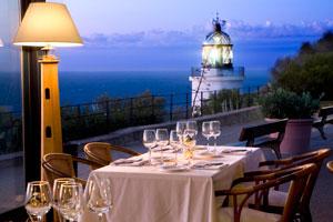 Vermut en el Restaurant El Far de la Costa Brava