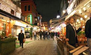 Calle Kumkapi, en Estambul