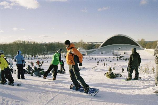 Vacaciones de invierno esn Estonia