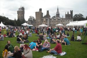 Gran Festival del Queso Británico en el Castillo de Cardiff