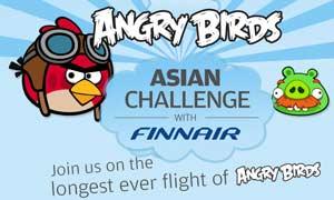 """Finnair prepara un avión especial para los """"Angry Birds"""""""