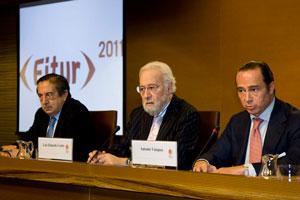 Rueda de prensa de la presentación de Fitur 2011