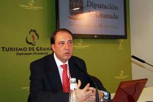 diputado delegado de Medio Ambiente de la Diputación de Granada, Francisco Tarifa