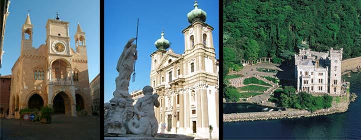 Porderone, Gorizia y Castillo de Miramare
