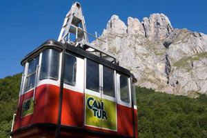 El teleférico de Fuente Dé, entrada a los Picos de Europa