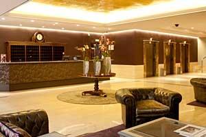Recepción del Hotel Gallery