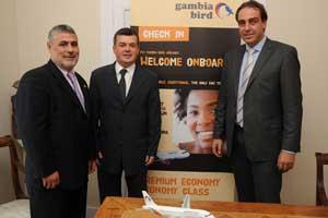 Presentación de Gambia Bird, en el Consulado de Gambia de Barcelona