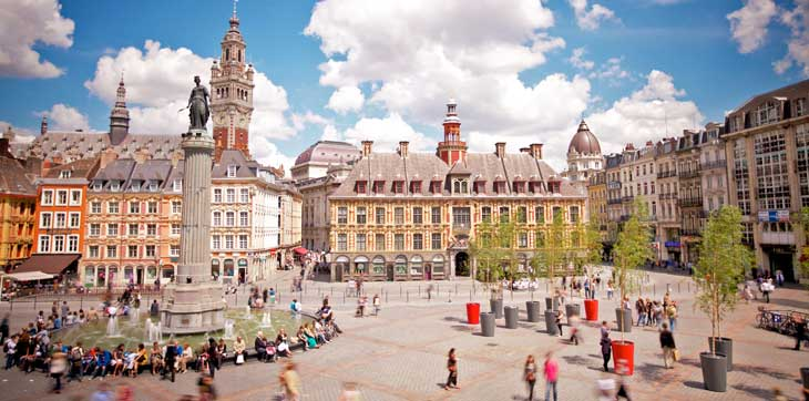 Grand Place © Laurent Ghesquiere / Office du Tourisme de Lille