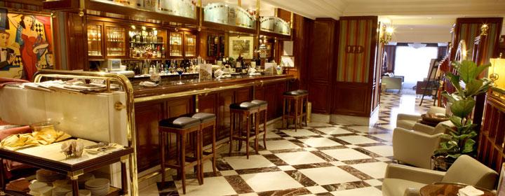 Cafetería del Gran Hotel Conde Duque