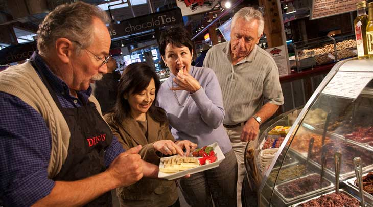 Gastronomía en Granville