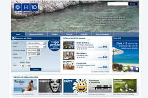 H10 Hotels renueva su web www.h10hotels.com
