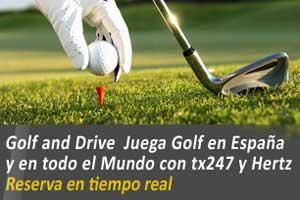 Hertz y TX247 firman un acuerdo para potenciar el turismo de golf